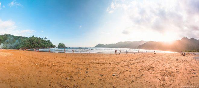 Panorama Pantai Lenggoksono